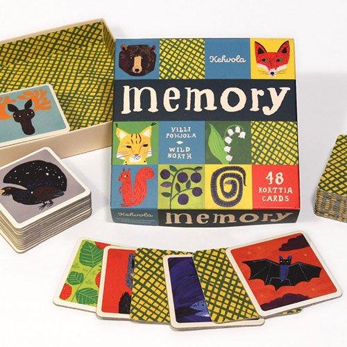 Kehvola design [ WILD NORTH ] メモリーゲーム